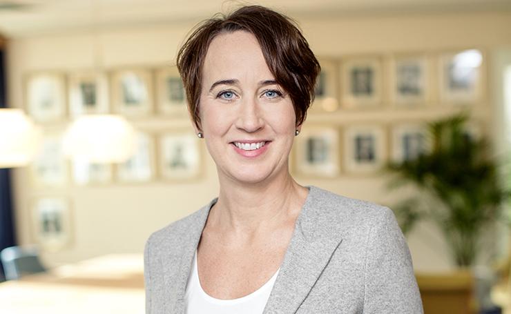 Kristin Andersson regionchef Byggföretagen Öst, vd Stockholms Byggmästareförening FOTO: ROSIE ALM